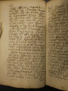 Blz. 64 uit het handschrift van Waeijer.