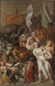 23.-Deel-van-de-triomfstoet-met-olifant-en-schilderijen.-Theodoor-van-Thulden